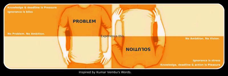 Inspired from Kumar Vembu's message