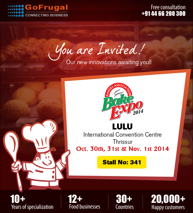 Bake Expo 2014 Thrissur Kerala - GoFrugal Event