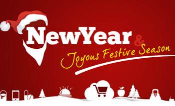 Festive season wishes and great new year 2015