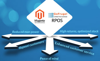 Integrate your Magento eCommerce store with GoFrugal POS