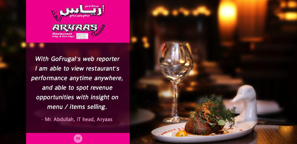 Restaurant POS customer