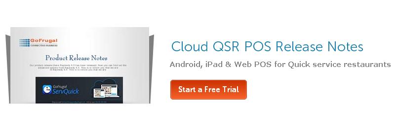 Cloud Quick Service Restaurant POS