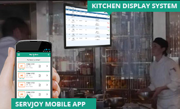 Take complete control of restaurant kitchen with Kitchen Display System – GoFrugal ServJoy