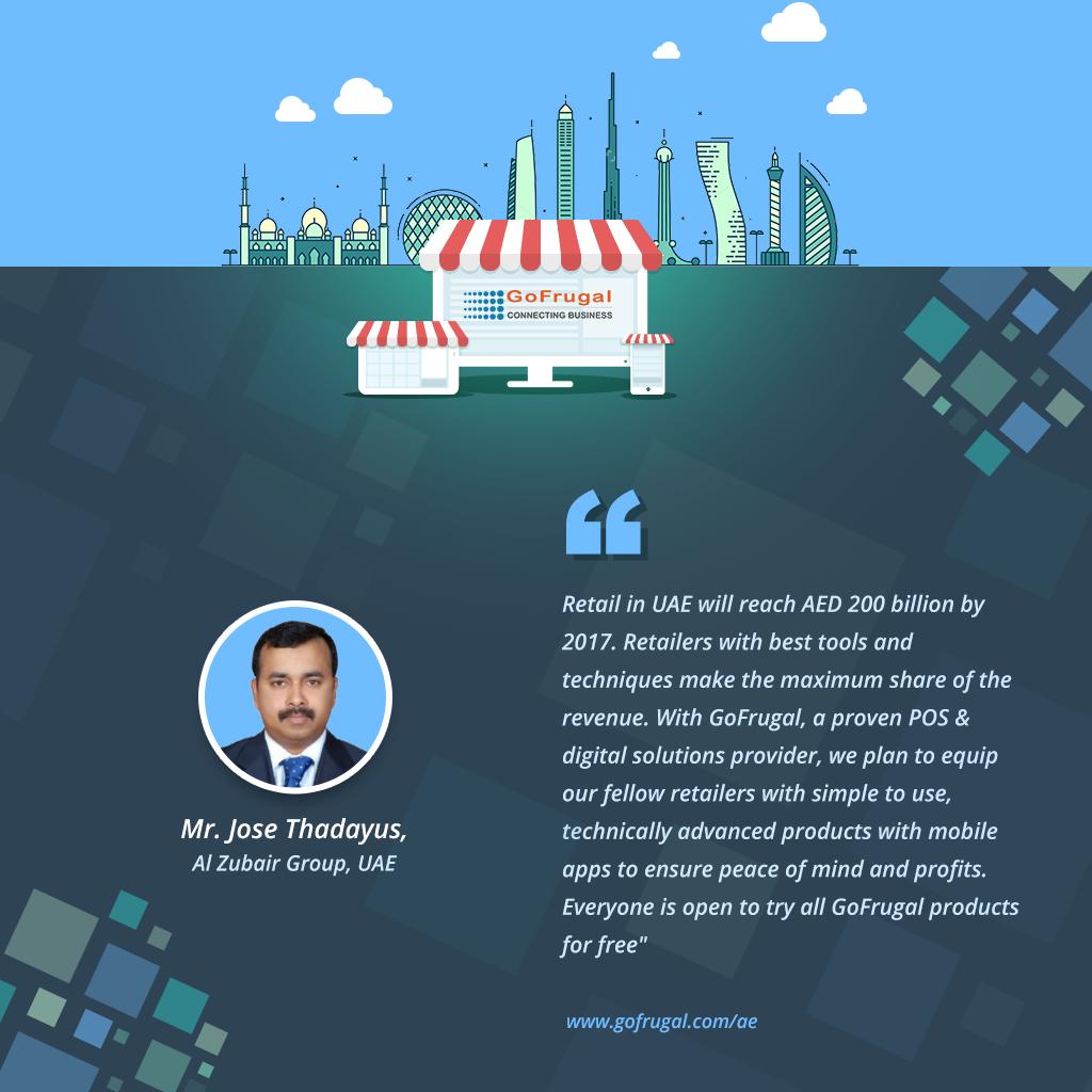 GoFrugal POS feedback - jose-thadayus, Al Zubair Group UAE