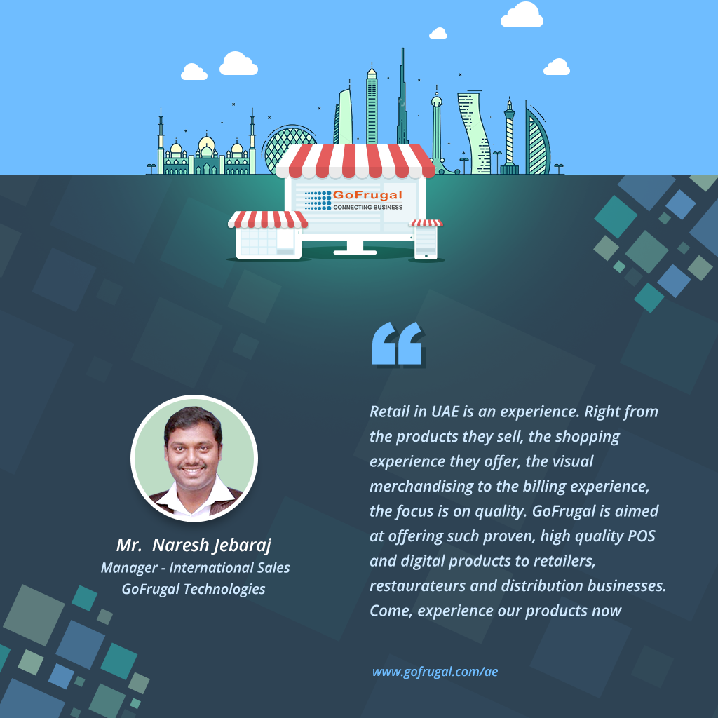 UAE International sales manager feedback - Naresh