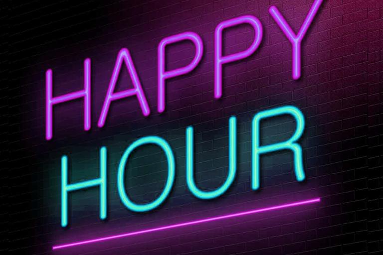happy hour in restaurants