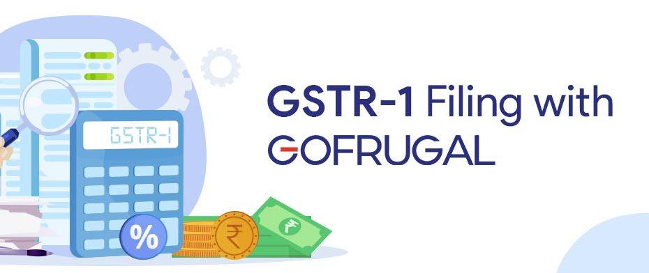 GSTR-1 filing GOFRUGAL