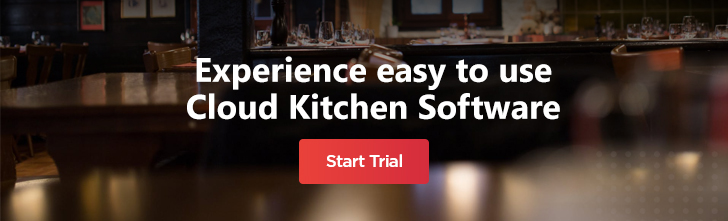 our cloud kitchen software to ease your operations