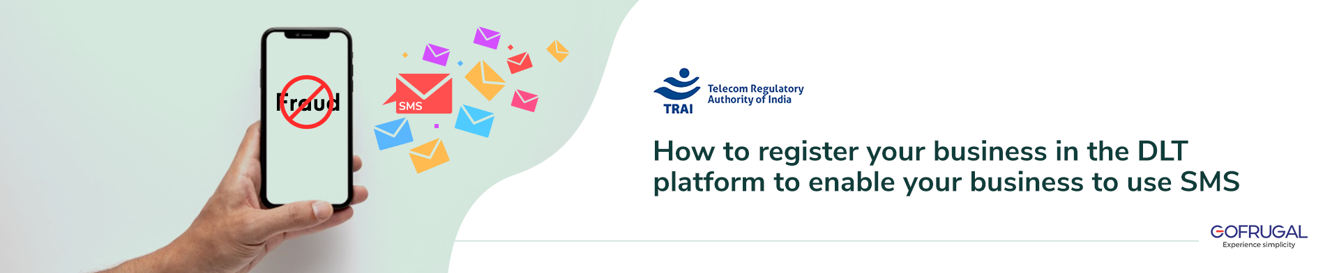 How to register on the DLT platform in order to send SMS