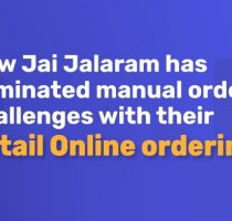 Eliminating manual ordering challenges with online ordering app. A success story!