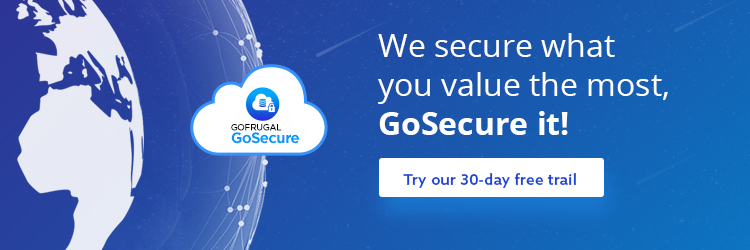 GoSecure 1 month free trail