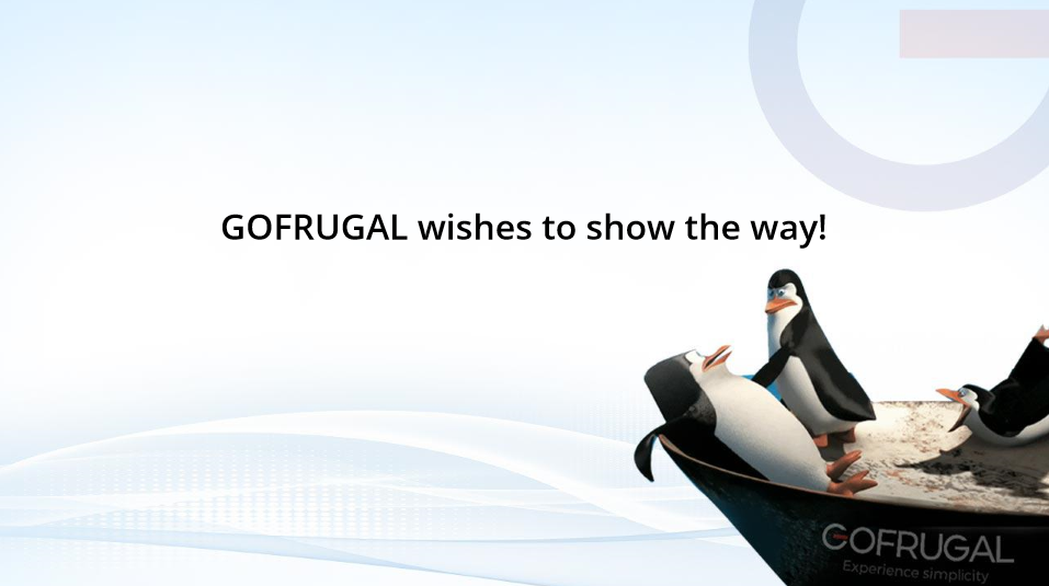 GOFRUGAL wishes to show the way to save the struggling retail penguins!