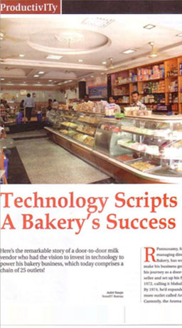Bakery software customer article - aroma bakery