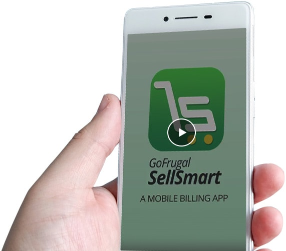 Retail billing mobile app