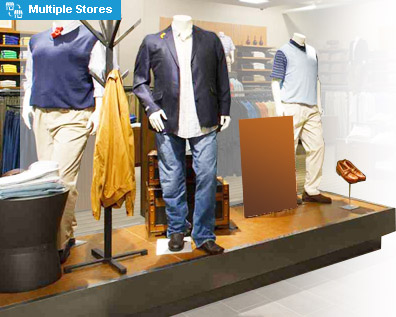 Apparel and Footwear shop chain solution