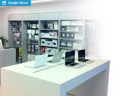 Electronics store retail point of sale software