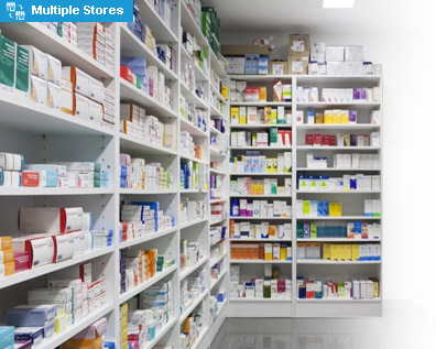 Pharmacy chain shop management solution